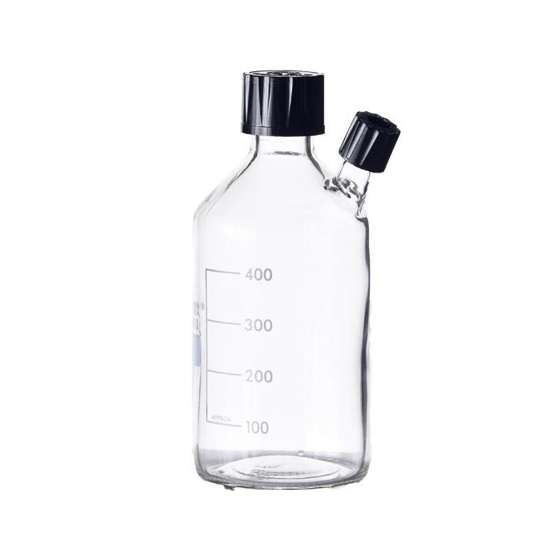 Clear Pyrex Glass With Connection Neck