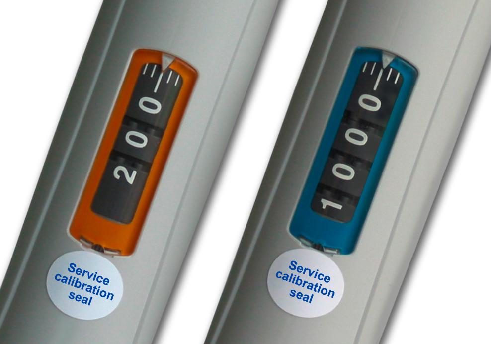 Socorex Calibration Seal Stickers